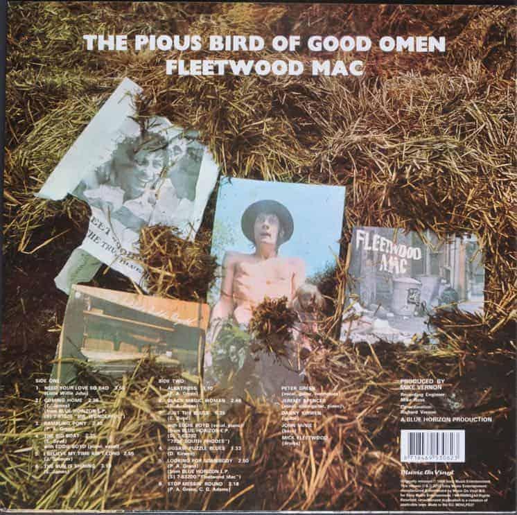 Fleetwood Mac The Pious Bird Of Good Omen