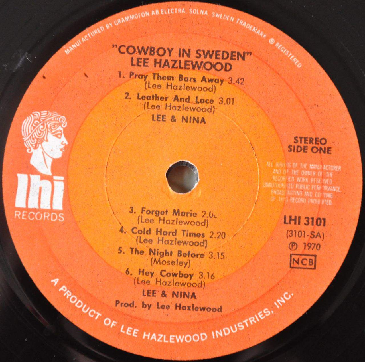 Lee Hazlewood Cowboy In Sweden