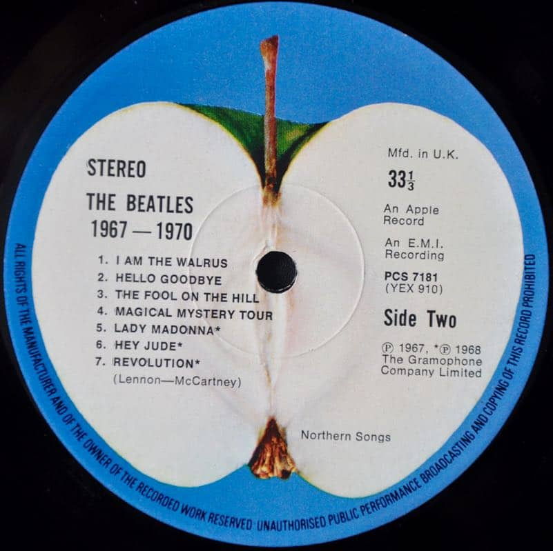 The Beatles 1967 1970 Uk