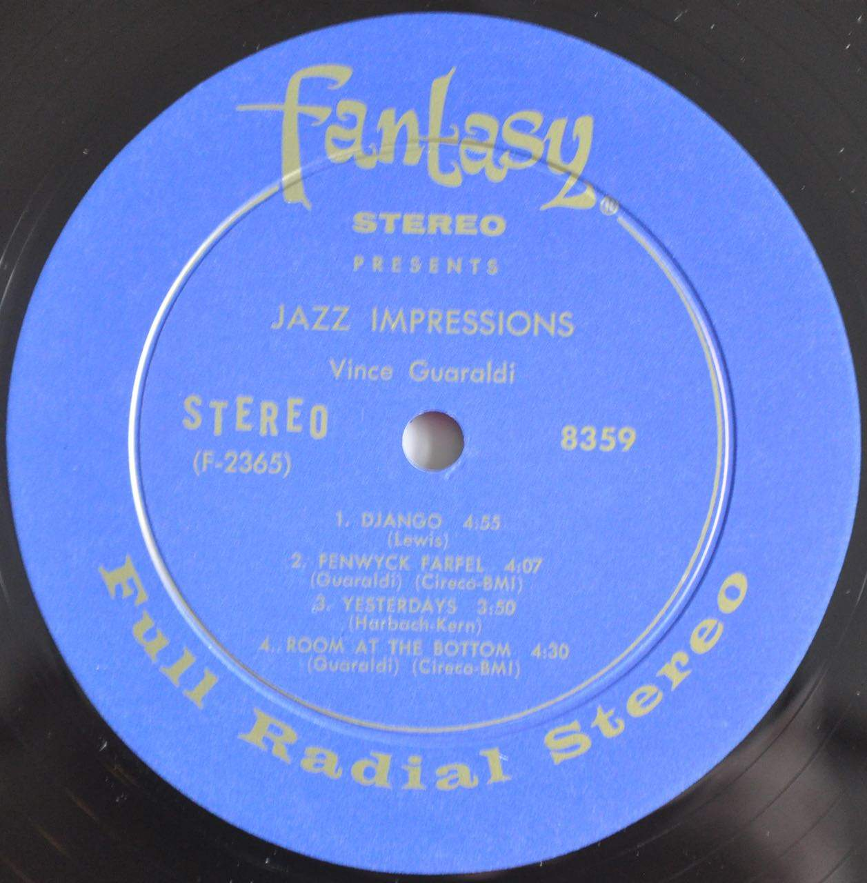 Vince Guaraldi Jazz Impressions Stereo