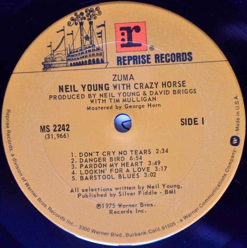Neil Young Amp Crazy Horse Zuma
