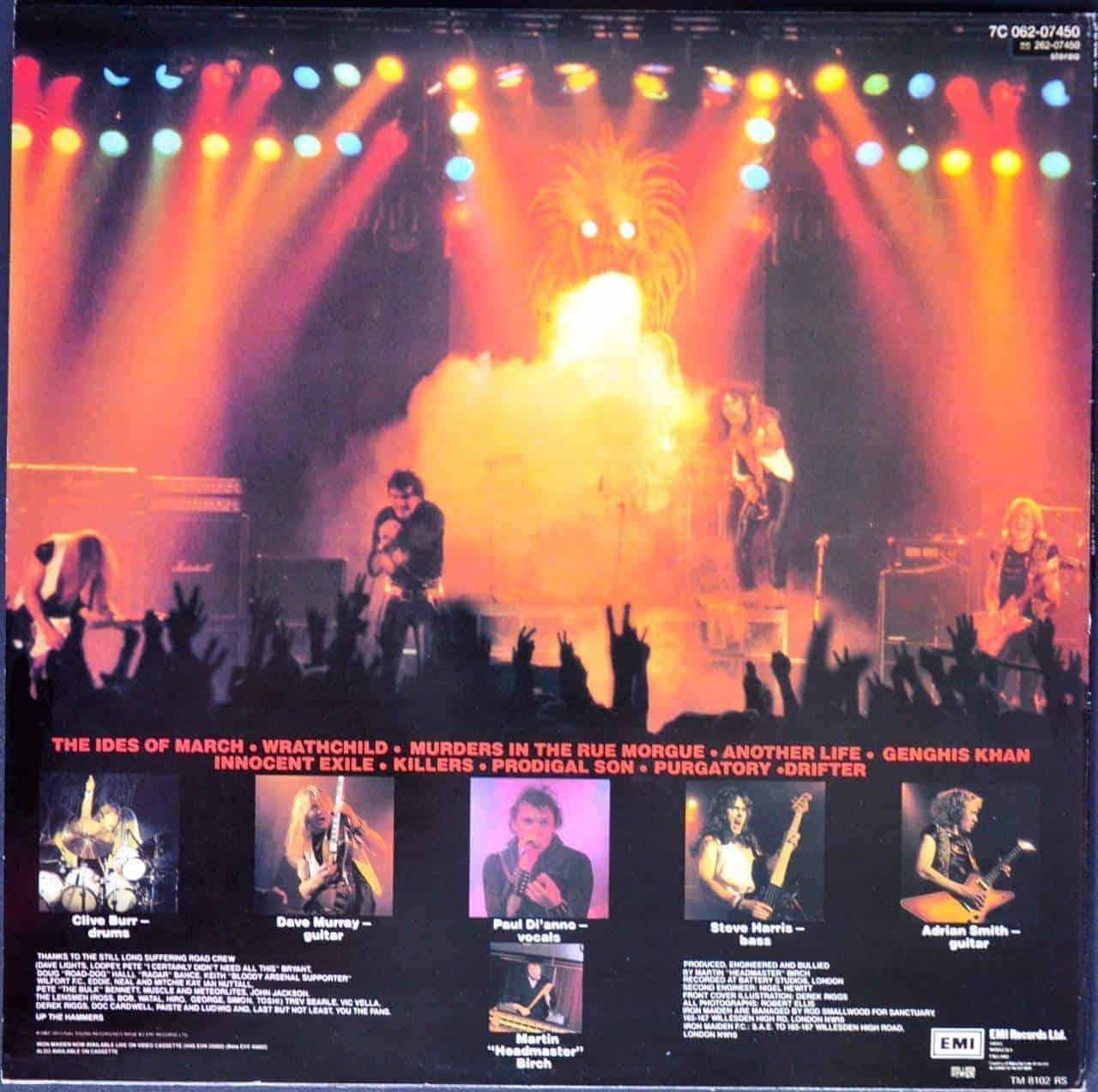 Iron Maiden Killers Quot Promo Quot
