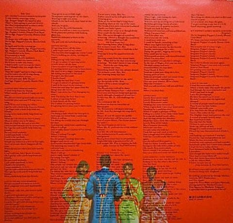Beatles The Sgt Pepper S Lonely Hearts Club Band Uk