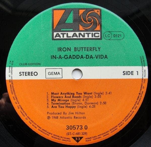 Iron Butterfly In A Gadda Da Vida Club